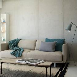 Panbeton® - Mise en scène panneaux muraux béton salon