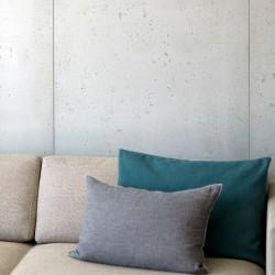 Panbeton® - Zoom matière panneau mural béton salon