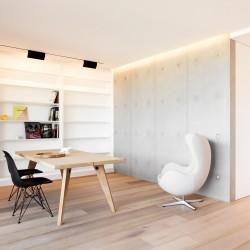 Panbeton® - Panneaux muraux béton salon
