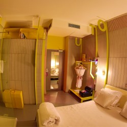 Panbeton® - Panneaux muraux béton hôtel