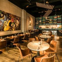 Panbeton® - Panneaux muraux béton restaurant