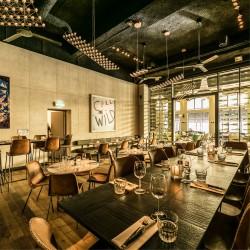 Panbeton® - Revêtement mural béton restaurant