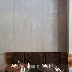 Panbeton® - Panneau mural béton restaurant