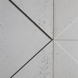 Panbeton® - Zoom matière panneau mural béton Giometry