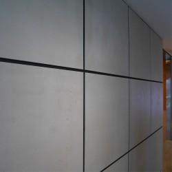 Slimbeton® - Zoom matière panneau mural béton