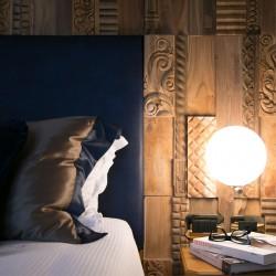 Wonderwall Studios - Panneau mural bois chambre