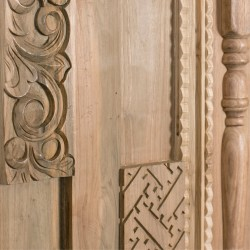 Wonderwall Studios - Zoom matière panneau mural bois Phoenix