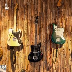 Wonderwall Studios - Revêtement mural bois salle de musique