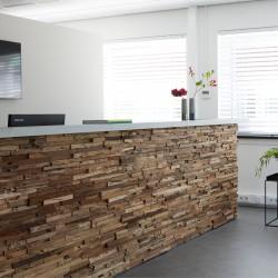 Wonderwall Studios - Revêtement bois bureau