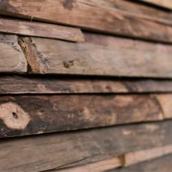 Wonderwall Studios - Zoom matière panneau mural bois Gallon