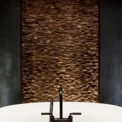 Wonderwall Studios - Panneaux muraux bois salle de bain