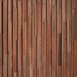 Wonderwall Studios - Zoom matière panneau mural bois Barrow
