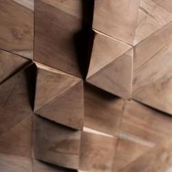 Wonderwall Studios - Zoom matière  bois Jazz