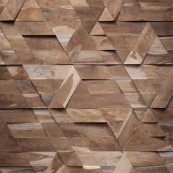 Wonderwall Studios- Zoom matière panneau mural bois Jazz