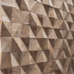 Wonderwall Studios - Zoom matière panneau mural bois Willow